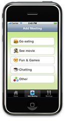 iMeet- compose a new meeting