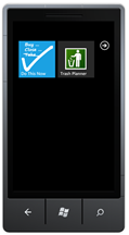 The two Windows Phone 7 applications for the contest