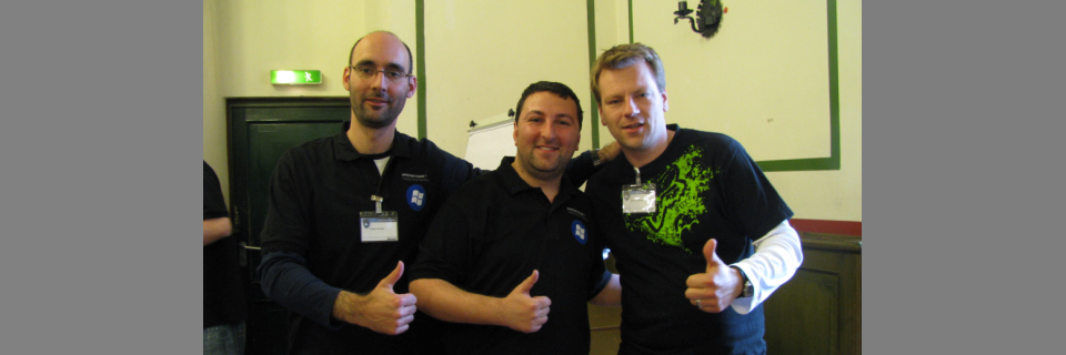 Developing Windows Phone 7 apps with Frank Fischer and Oliver Scheer at Code Ritter event